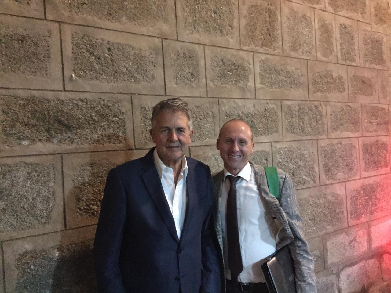 El Dr.Gallardo cena en Toledo con el Dr.Bennett