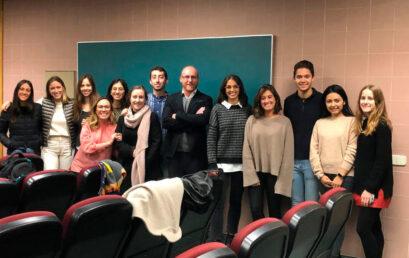 Clase en Master Ortodoncia Universidad Complutense de Madrid (UCM)